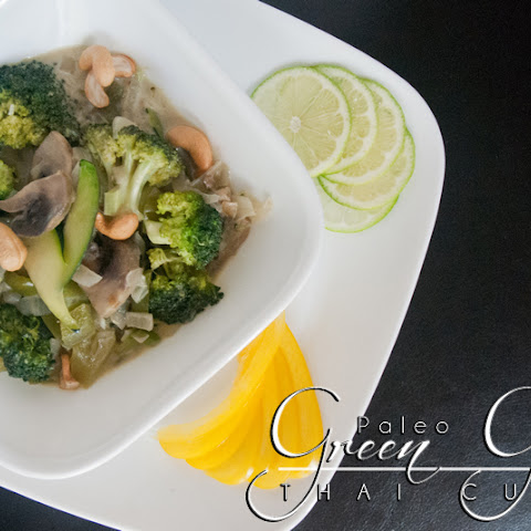 Paleo Thai Green Green Curry