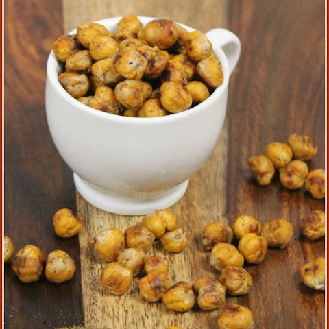 Savory Spiced and Roasted Garbanzo Beans