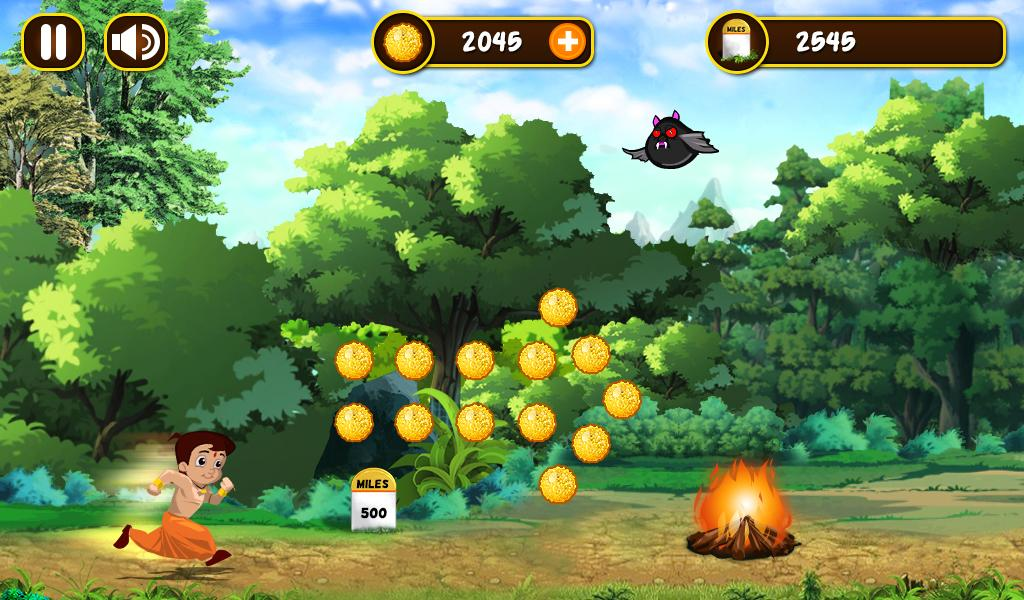 Chhota Bheem Jungle Run Screenshot 2