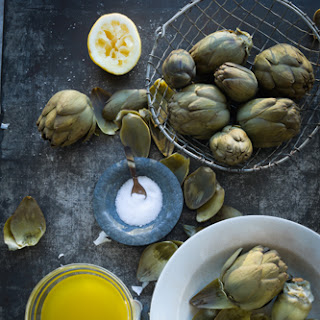 Family Favorite Artichokes with Dipping Sauce