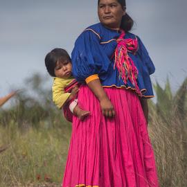 Native Rarámuri by Sergio Tohtli - People Family