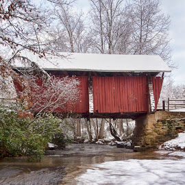 2015 0610 by Ross Boyd - Landscapes Travel ( snow, sc, creeks, covered bridges, landscape )