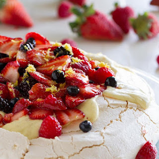 Pavlova Recipe with Fresh Berries