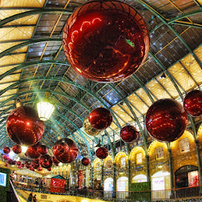 Covent Garden Market by Anthony D'Angio - Public Holidays Christmas