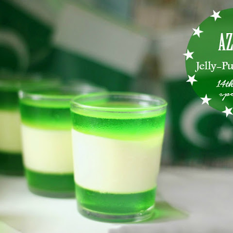 Azaadi Jelly-Pudding Shots