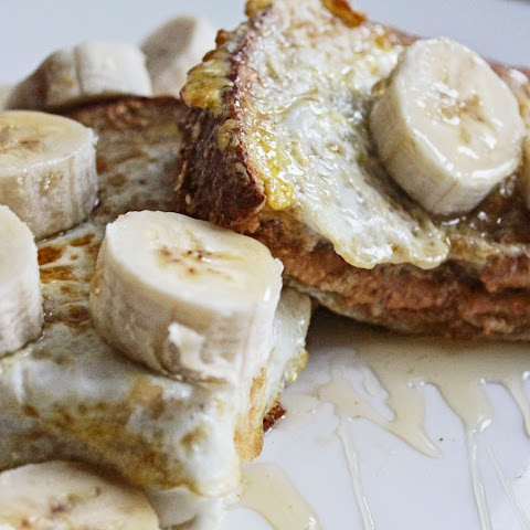 All Natural Peanut Butter French Toast
