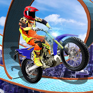 Offroad Stunt Moto Racing Icon
