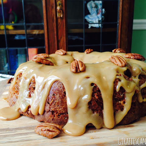Brown Sugar & Pecan Caramel Pound Cake