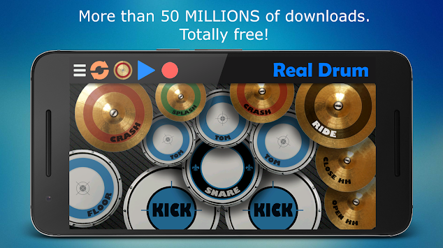 Real Drum APK screenshot thumbnail 3