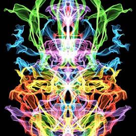 teleportation by Josiah Hill-meyer - Digital Art Abstract