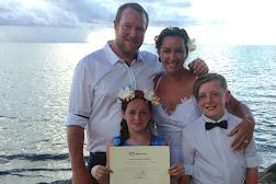 Simone & Rowland at Wyndham Denarau Island