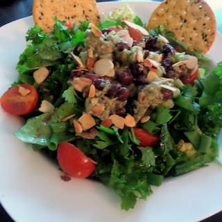 Guacamole Black Bean Tuna Salad