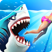 Game Hungry Shark World version 2015 APK