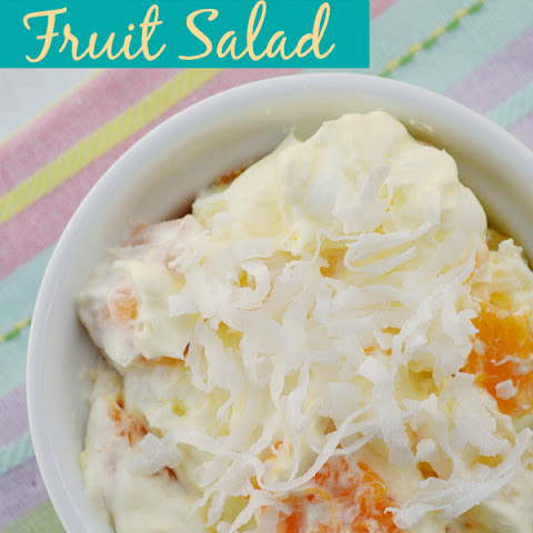 Lemon Marshmallow Fruit Salad