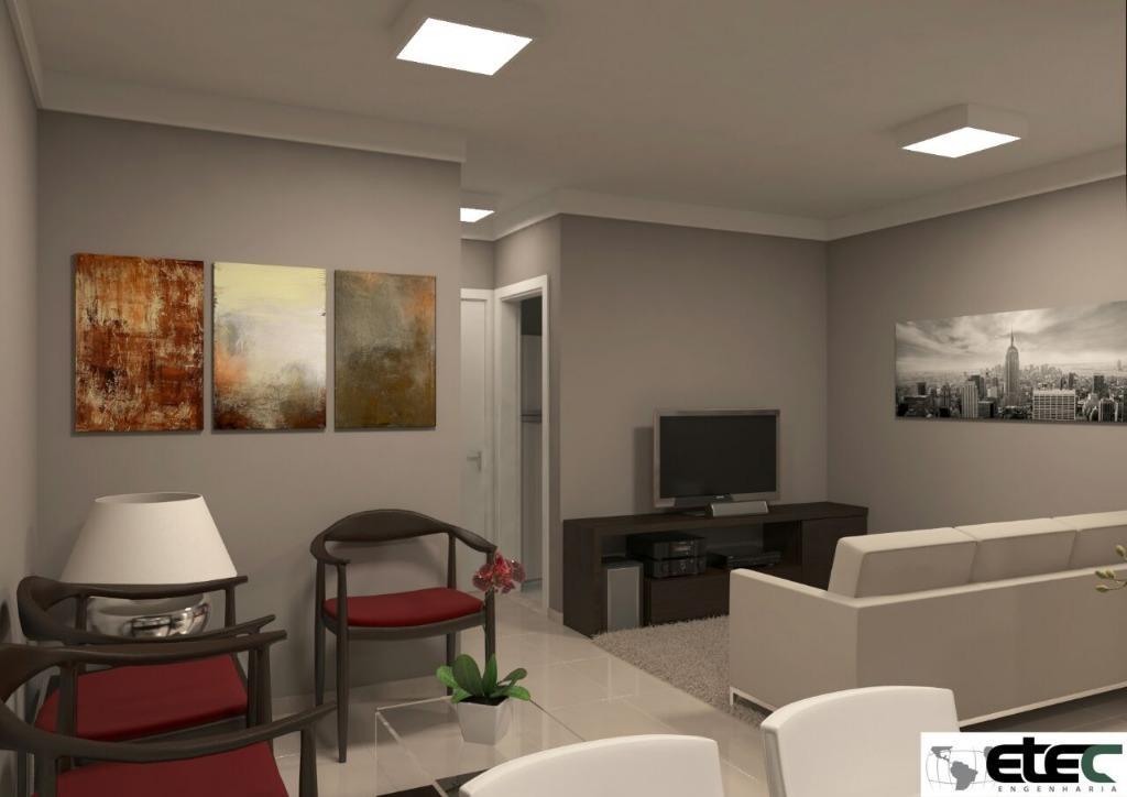 Apartamento residencial à venda, Residencial Doutor Abel Reis, Uberaba - AP1753.