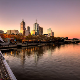 Melbourne CBD by Madhujith Venkatakrishna - City,  Street & Park  Neighborhoods