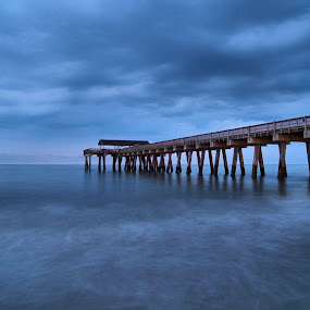 TYBEE by William Brothers - Landscapes Waterscapes ( savannah, pier, georgia, ocean, beach, tybee island )