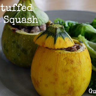 Stuffed Round Summer Squash Recipes