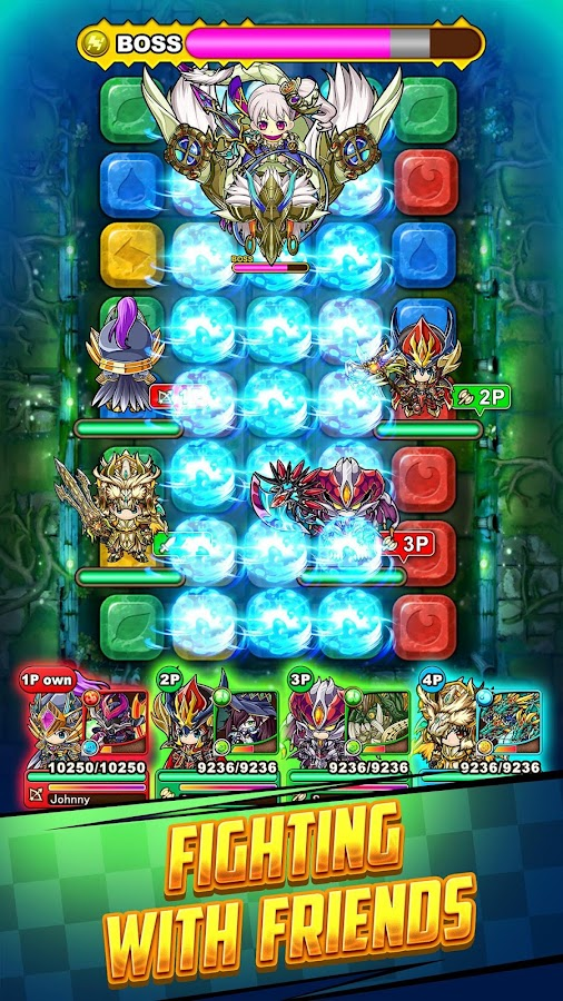 Puzzle Dragon Dungeons Screenshot 1