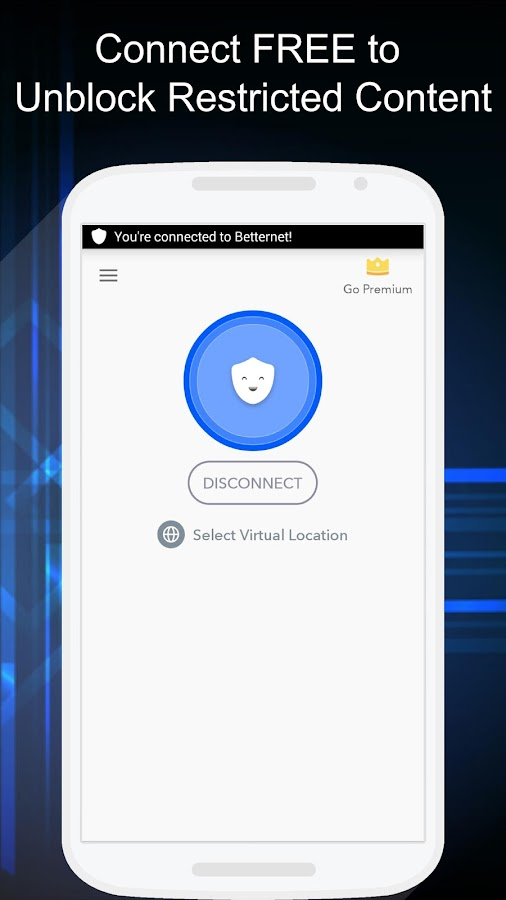 Free VPN - Betternet VPN Proxy & Wi-Fi Security Screenshot 0