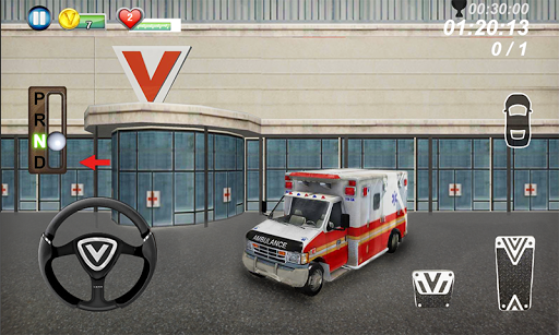 Ambulance parking 3D Part 3 - screenshot