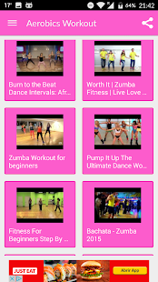Aerobics weight loss workouts- screenshot thumbnail