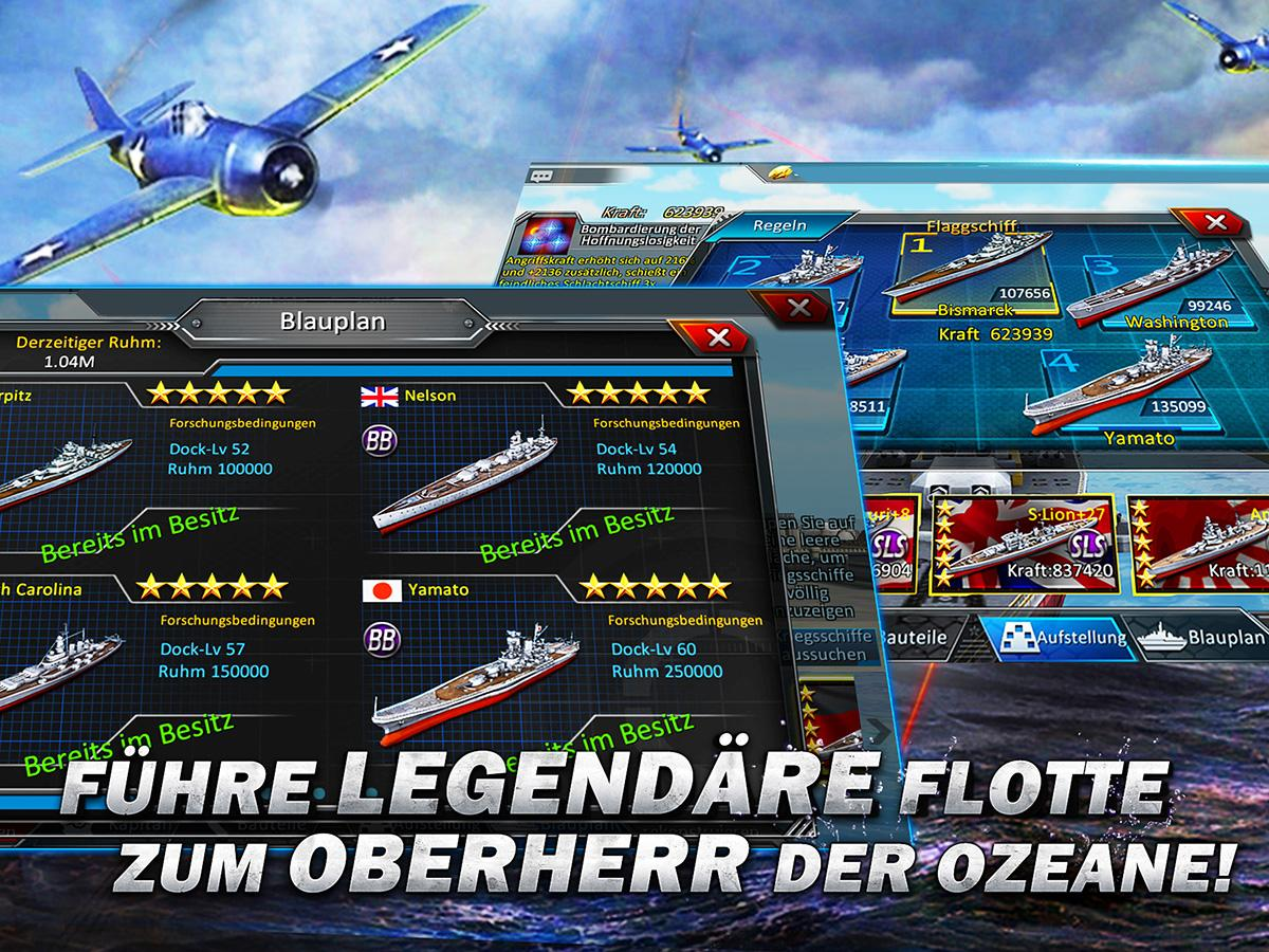 Thunder Fleet-Deutsch 3D Screenshot 3