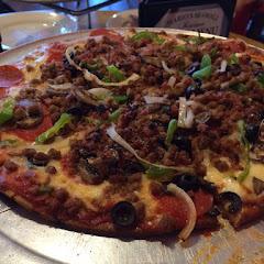 Gluten free pizza was outstanding!