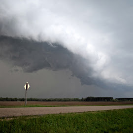 Severe weather by Kasha Newsom - Landscapes Weather ( clouds, wisconsin, weather, storms )