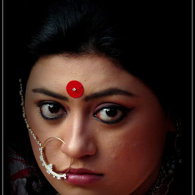 Story by Anumita Das - People Portraits of Women ( face, traditional, portrait )