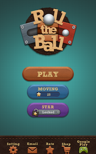 Roll the Ball - slide puzzle - screenshot