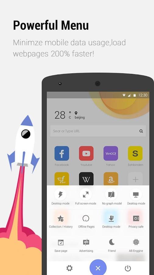 APUS Browser - Schnell herunterladen android apps download