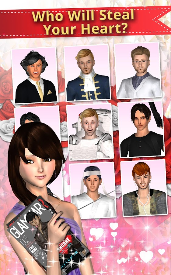 Me Girl Love Story - Date Game Screenshot 9