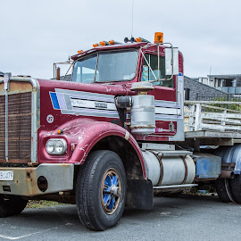 Old Truck by Barry  Stead - Transportation Other