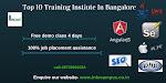 Top 10 Training Instiute In Bangalore
