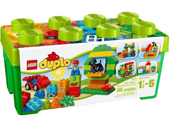 Универсальный набор LEGO DUPLO «Веселая коробка»