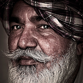 singh by Don Eugene Roces - People Portraits of Men ( senior citizen )