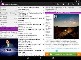 Screenshot of Podcatcher Deluxe