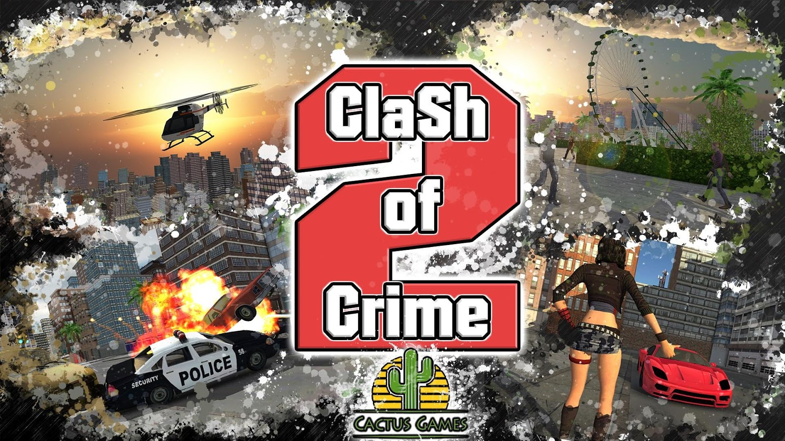 Clash of Crime Mad City War Go Screenshot 4
