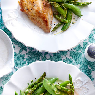 Skillet Chicken and Spring Vegetables