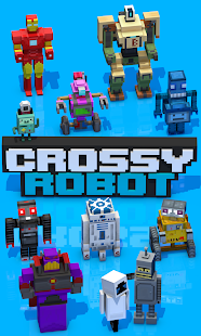 Crossy Robot : Combine Skins- screenshot thumbnail