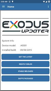 Exodus Updater
