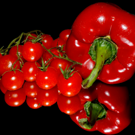 red vegetables by LADOCKi Elvira - Food & Drink Fruits & Vegetables ( fruits )