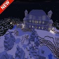 Ice Spikes Castle map for MCPE