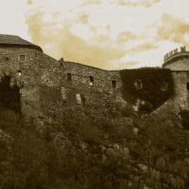 Trsat, Croatia by Slavko Marcac - Black & White Buildings & Architecture ( croatia )