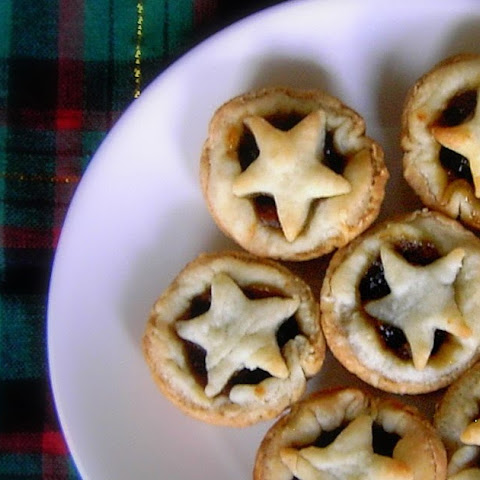 Mini Star-Topped Mince Pies