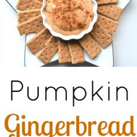 Pumpkin Gingerbread Dip