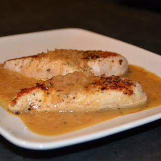 One Skillet Turkey Breasts With Honey Mustard Pan Sauce