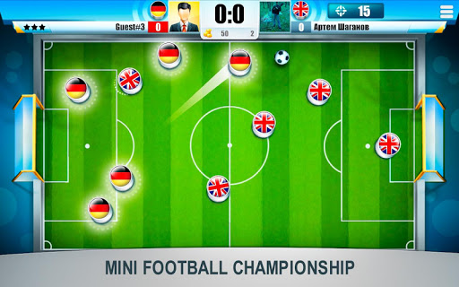 Mini Football Championship - screenshot
