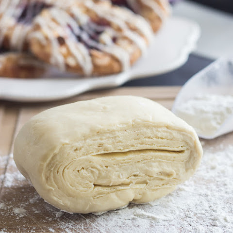 Easy Danish Pastry Dough